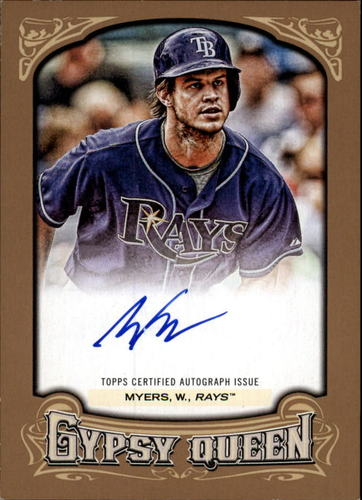 Photo of 2014 Topps Gypsy Queen Autographs Gold #GQAWM Wil Myers