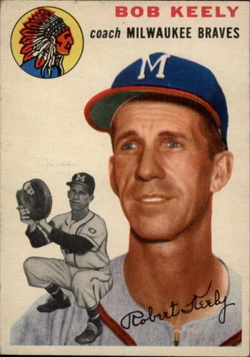 Photo of 1954 Topps #176 Robert Keely CO
