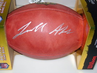 NFL - GIANTS JERELL ADAMS SIGNED AUTHENTIC FOOTBALL
