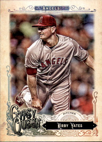 Photo of 2017 Topps Gypsy Queen #285 Kirby Yates