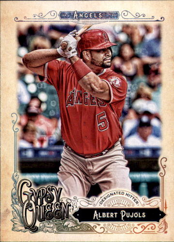 Photo of 2017 Topps Gypsy Queen #102 Albert Pujols