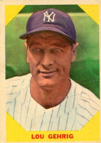 Photo of 1960 Fleer #28 Lou Gehrig