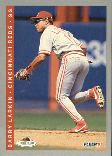 Photo of 1993 Fleer Fruit of the Loom #35 Barry Larkin