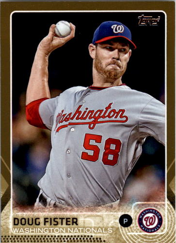 Photo of 2015 Topps Gold #109 Doug Fister