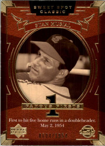 Photo of 2004 Sweet Spot Classic #151 Stan Musial FF/1954