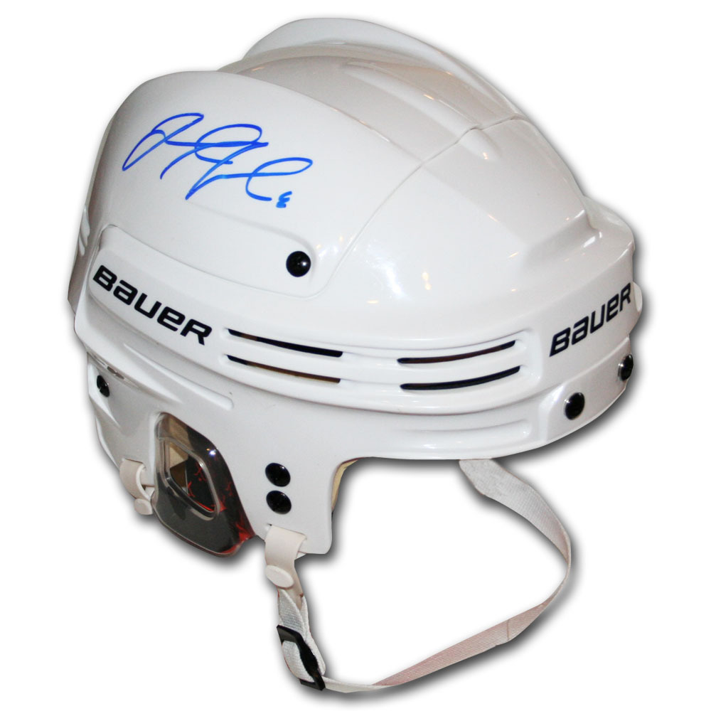 Jacob Trouba Autographed Bauer Hockey Helmet (Winnipeg Jets)