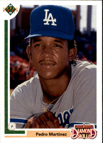 Photo of 1991 Upper Deck Final Edition #2F Pedro Martinez rookie card