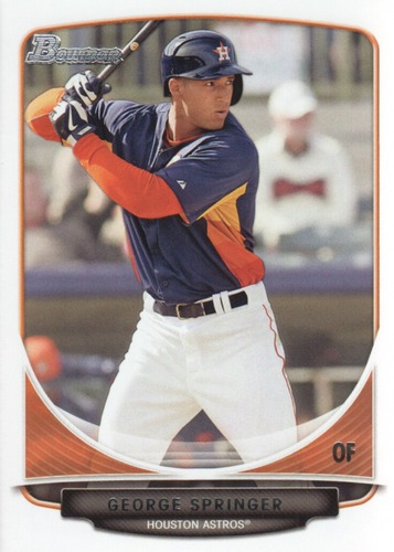 Photo of 2013 Bowman Draft Top Prospects #TP20 George Springer