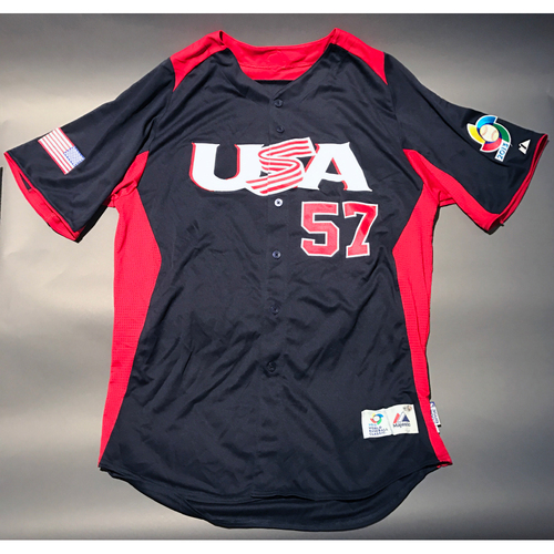 Photo of 2013 World Baseball Classic Jersey - USA Jersey, Luke Gregerson #57