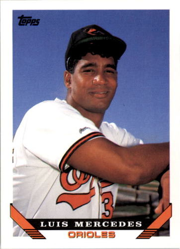 Photo of 1993 Topps #446 Luis Mercedes