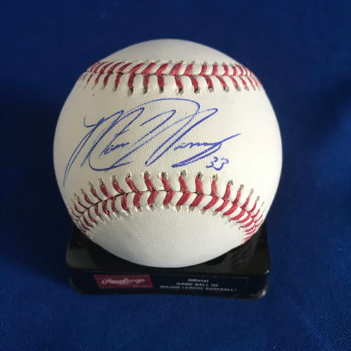 Photo of UMPS CARE AUCTION: Matt Harvey Signed Baseball