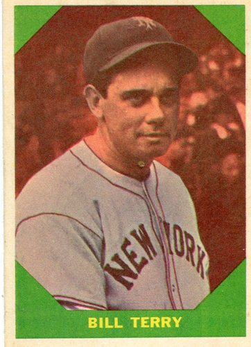 Photo of 1960 Fleer #52 Bill Terry