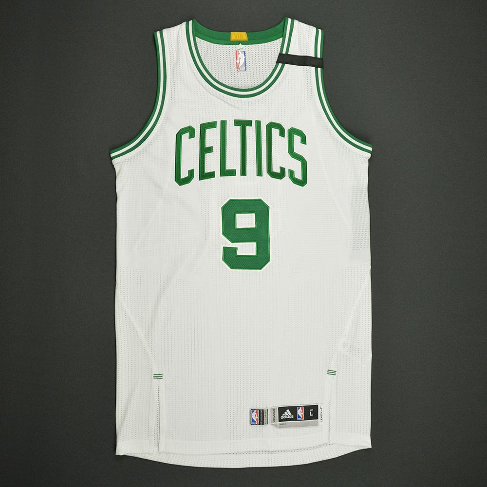Demetrius Jackson - Boston Celtics - White Playoffs Game-Issued Jersey - 2016-17 Season