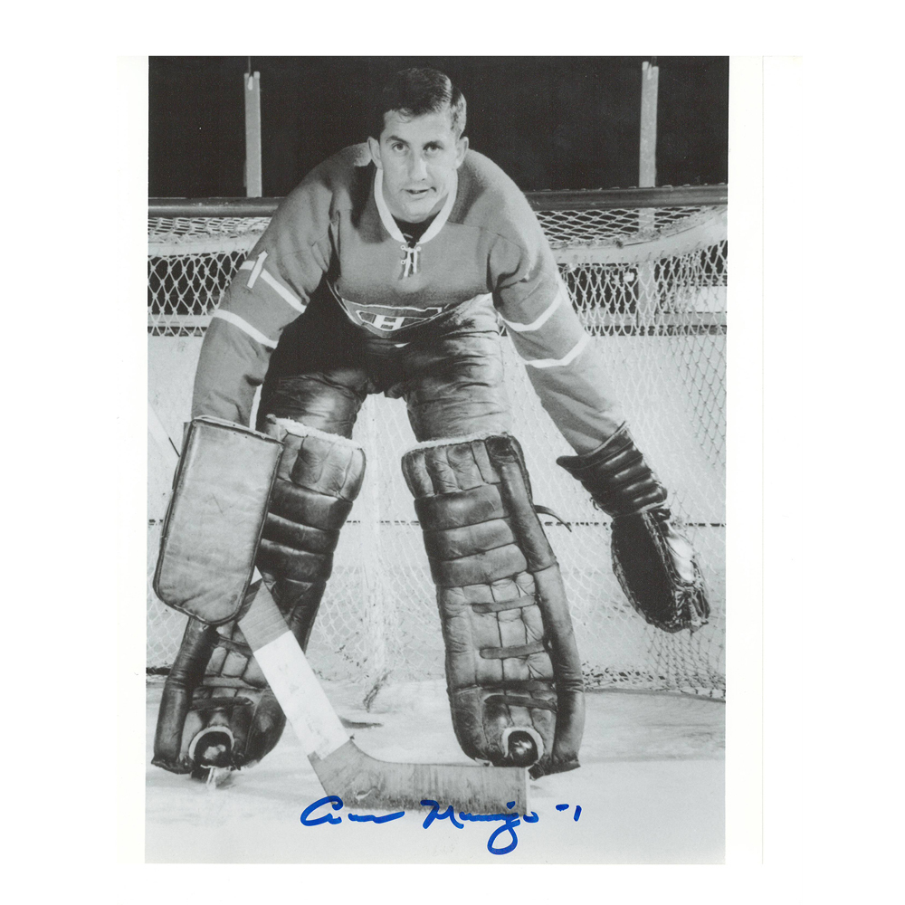 CESARE MANIAGO Signed Montreal Canadiens 8 X 10 Photo - 70212
