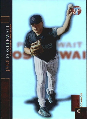 Photo of 2005 Topps Pristine Uncirculated Bronze #122 Jake Postlewait FY
