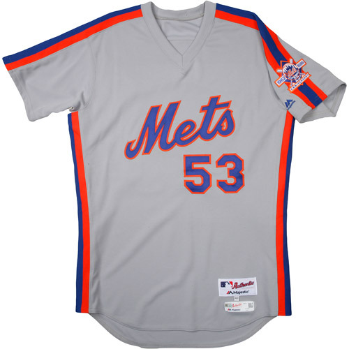 Photo of New York Mets 1986 Throwback Complete Game-Used Uniform Set - Dave Rancaniello