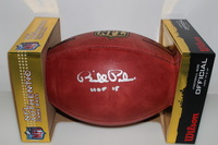 HOF - COLTS BILL POLIAN SIGNED AUTHENTIC FOOTBALL
