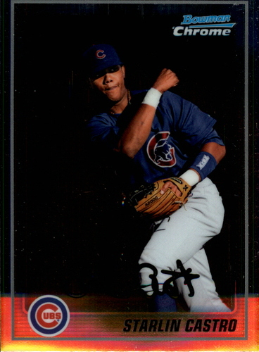Photo of 2010 Bowman Chrome Prospects #BCP100A Starlin Castro