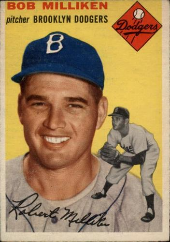 Photo of 1954 Topps #177 Bob Milliken