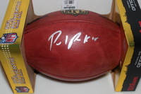 NFL - GIANTS PAUL PERKINS SIGNED AUTHENTIC FOOTBALL