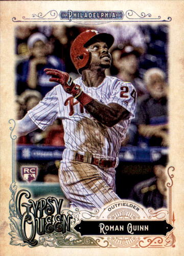 Photo of 2017 Topps Gypsy Queen #286 Roman Quinn RC