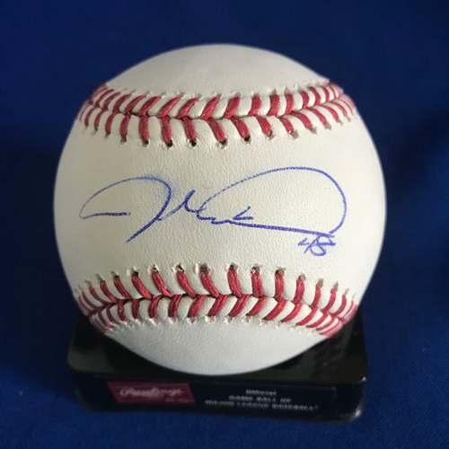Photo of UMPS CARE AUCTION: Jacob deGrom Signed Baseball