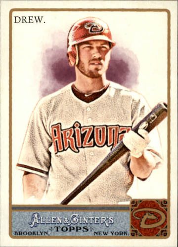 Photo of 2011 Topps Allen and Ginter #39 Stephen Drew
