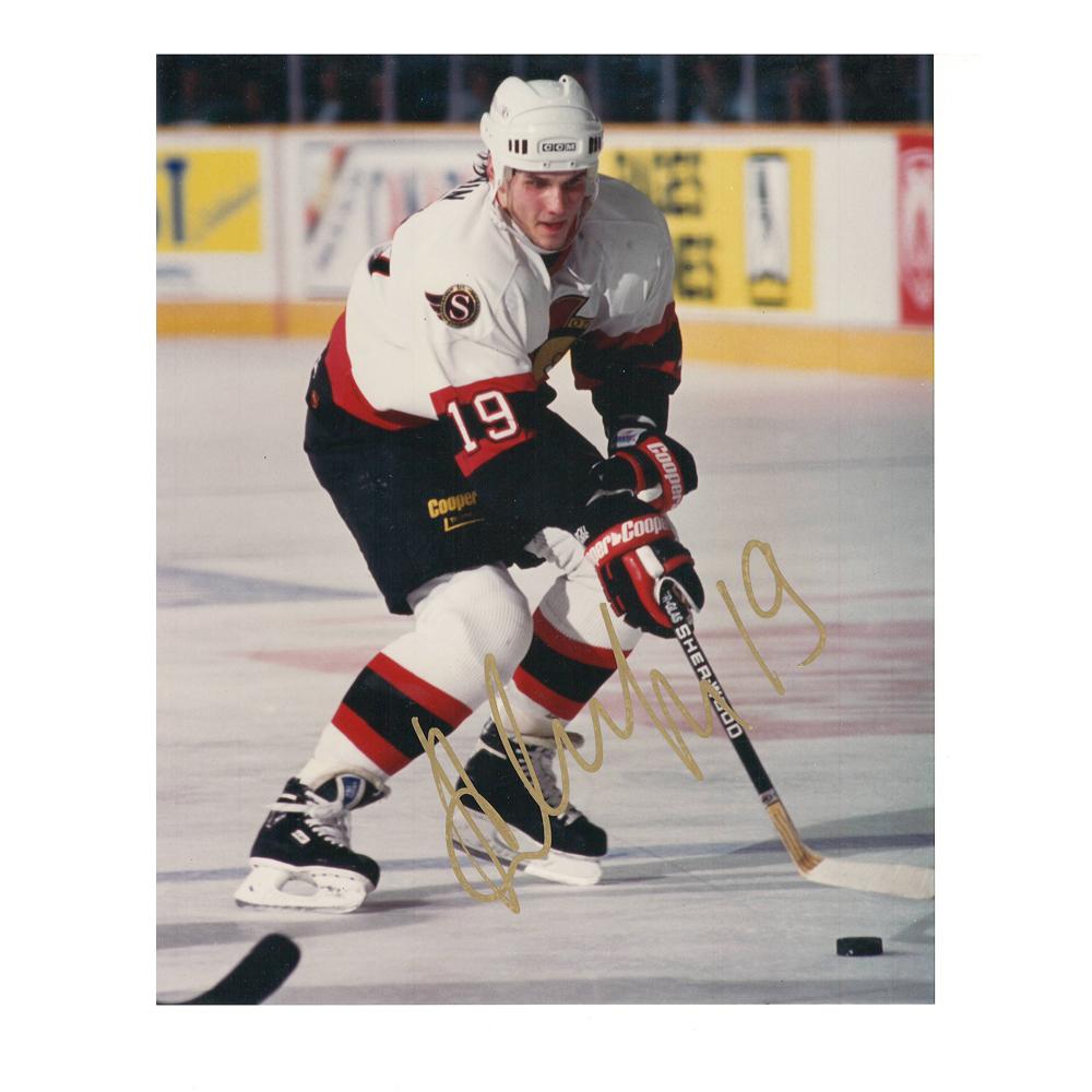 ALEXEI YASHIN Signed Ottawa Senators 8 X 10 Photo - 70218