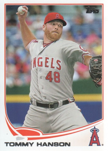 Photo of 2013 Topps #352 Tommy Hanson