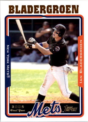 Photo of 2005 Topps #315 Ian Bladergroen FY RC