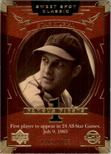 Photo of 2004 Sweet Spot Classic #152 Stan Musial FF/1963