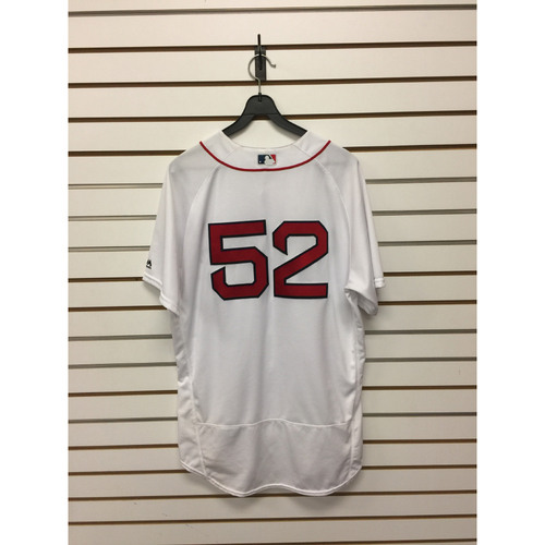 Photo of Eduardo Rodriguez Game-Used September 15, 2016 Home Jersey