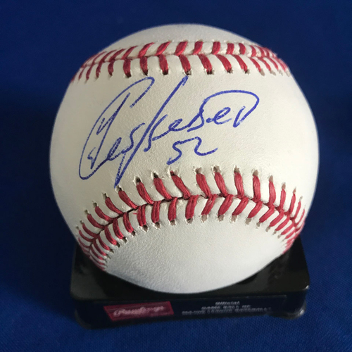 Photo of UMPS CARE AUCTION: Yoenis Cespedes Signed Baseball