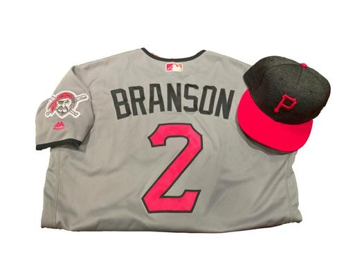 Photo of Jeff Branson Game-Used Mother's Day Jersey and Hat