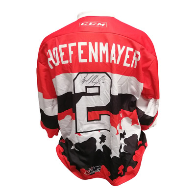 #2 Noel Hoeffenmayer Game Worn Teddy Toss Theme Jersey