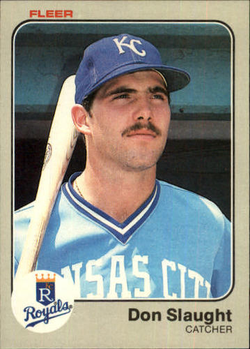 Photo of 1983 Fleer #123 Don Slaught RC