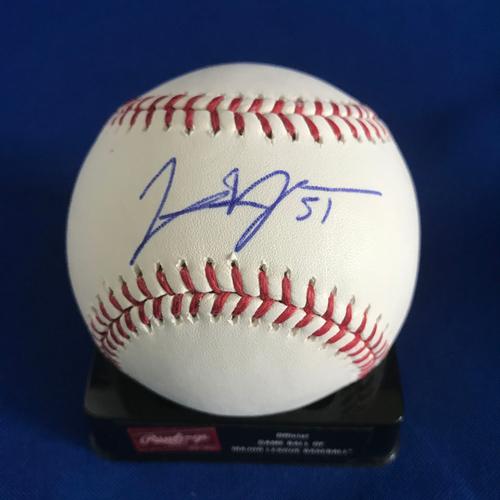 Photo of UMPS CARE AUCTION: Jason Vargas Signed Baseball