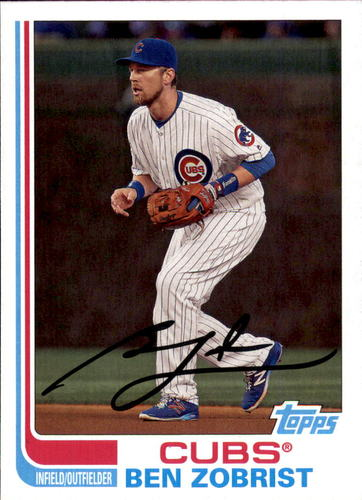 Photo of 2017 Topps Archives #198 Ben Zobrist