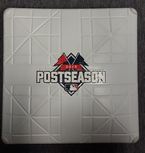 Photo of Authenticated Team Issued Base - 2015 ALDS (Peg not included)