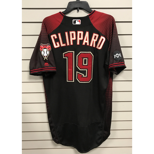 Tyler Clippard 2016 Team-Issued Jersey