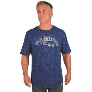 Toronto Blue Jays Cooperstown Program Tradition T-Shirt by Majestic