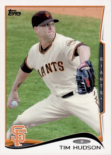 Photo of 2014 Topps #446 Tim Hudson