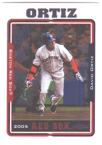 Photo of 2005 Topps Chrome #49 David Ortiz