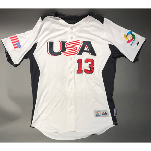 Photo of 2013 World Baseball Classic Jersey - USA Jersey, Roly de Armas #13