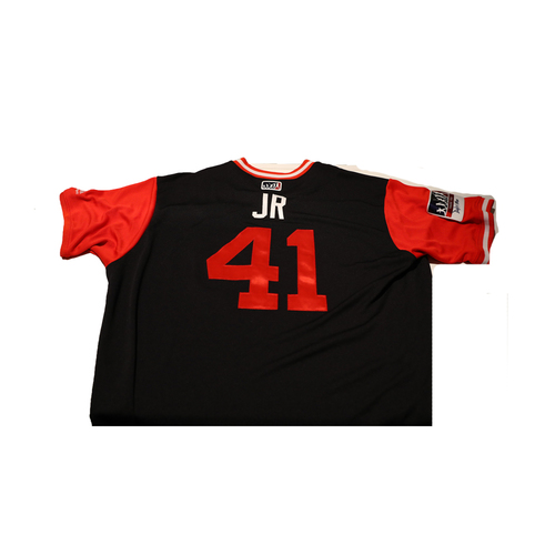 "Photo of Joe ""JR"" Ross Washington Nationals Team-Issued Players Weekend Jersey"