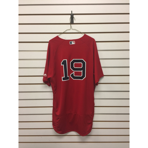 Koji Uehara Team-Issued 2016 Home Alternate Jersey