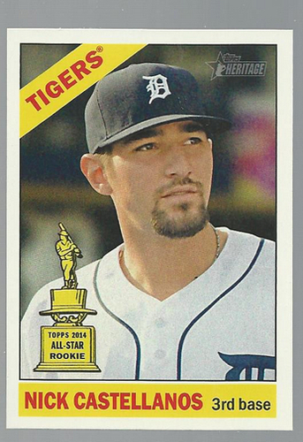 Photo of 2015 Topps Heritage #268A Nick Castellanos