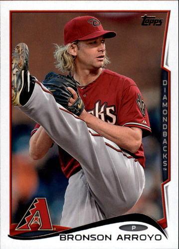 Photo of 2014 Topps Update #US19A Bronson Arroyo