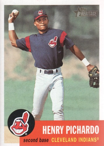 Photo of 2002 Topps Heritage #85 Henry Pichardo RC