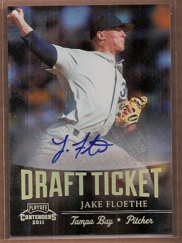 Photo of 2011 Playoff Contenders Draft Ticket Autographs #DT96 Jake Floethe